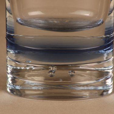 Iittala Arktia maljakko, kirkas, sininen, suunnittelija Timo Sarpaneva, massiivinen kuva 2