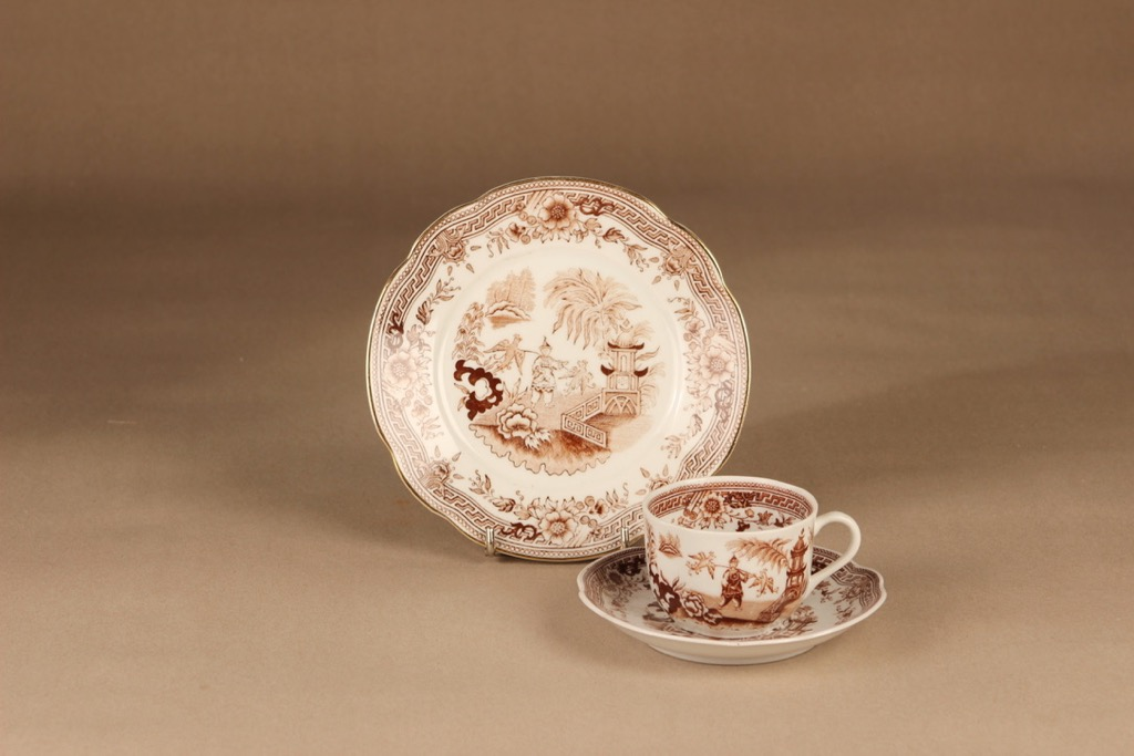 Arabia Singapore coffee cup and plates (2)