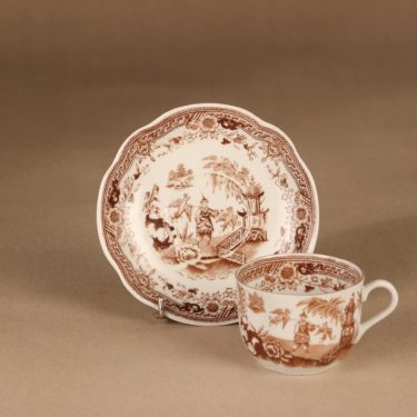 Arabia Singapore coffee cup and plates (2) 3