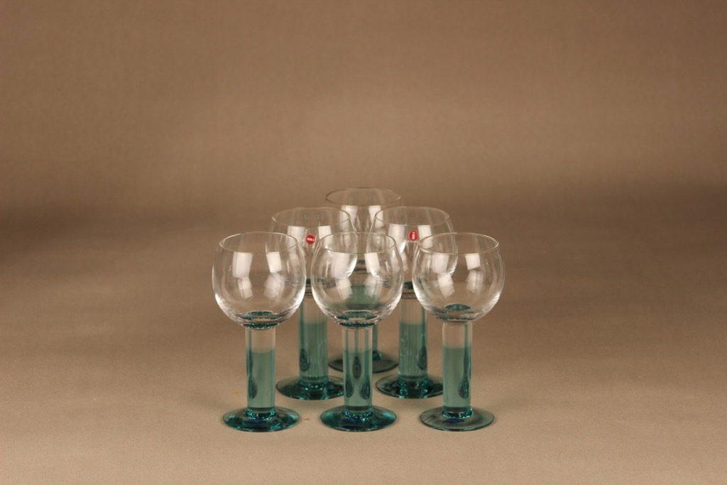 Nuutajärvi Mondo stark wine glass 20 cl designer Kerttu Nurminen