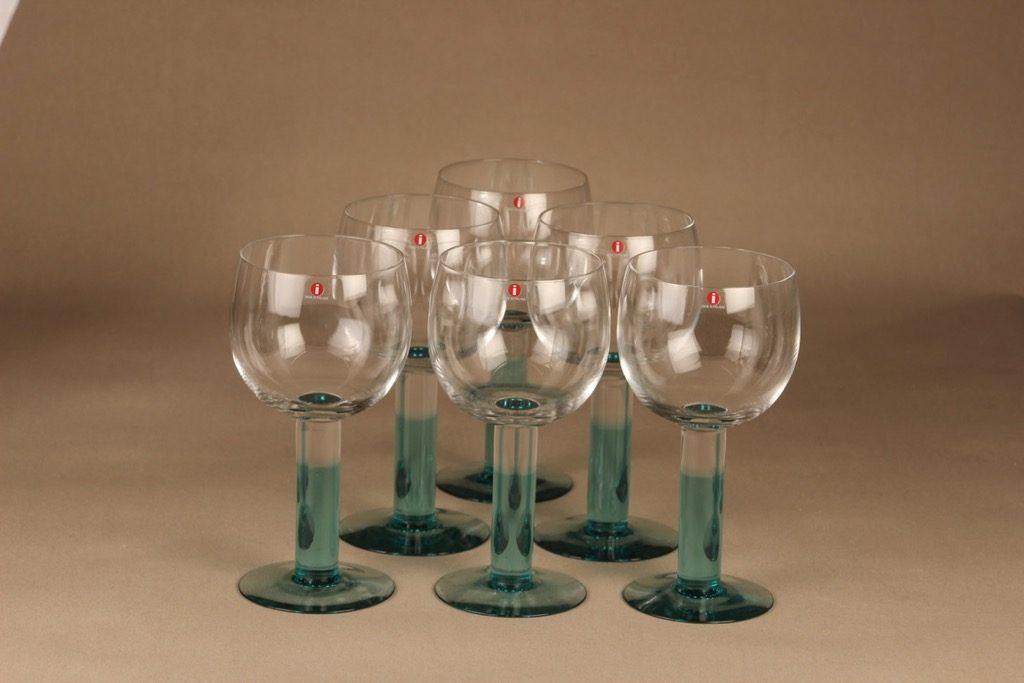 Nuutajärvi Mondo red wine glass 50 cl designer Kerttu Nurminen