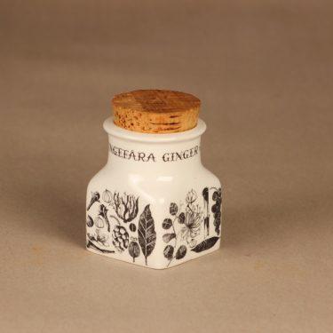 Arabia Maustekuva maustepurkki , Inkivääri, suunnittelija Esteri Tomula, Inkivääri, serikuva kuva 2