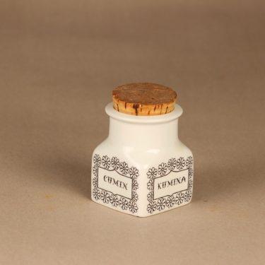 Arabia EK spice jar Cumin designer Esteri Tomula