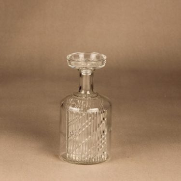 Riihimäen lasi Flindari karahvi, 50 cl, suunnittelija Nanny Still, 50 cl