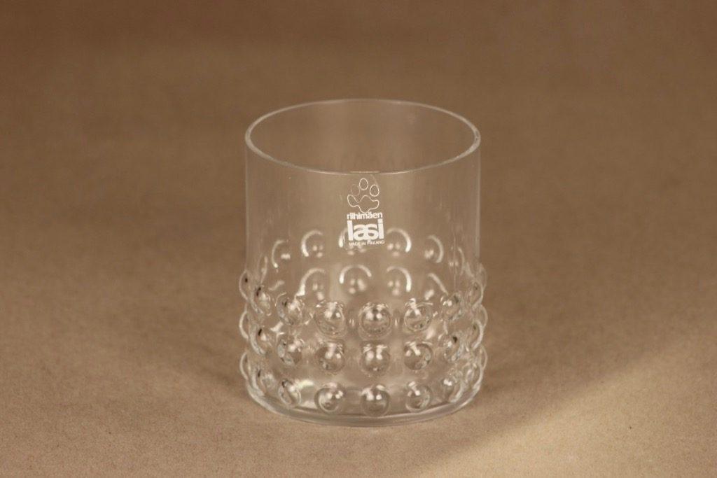 Riihimäen lasi Grappo glass designer Nanny Still