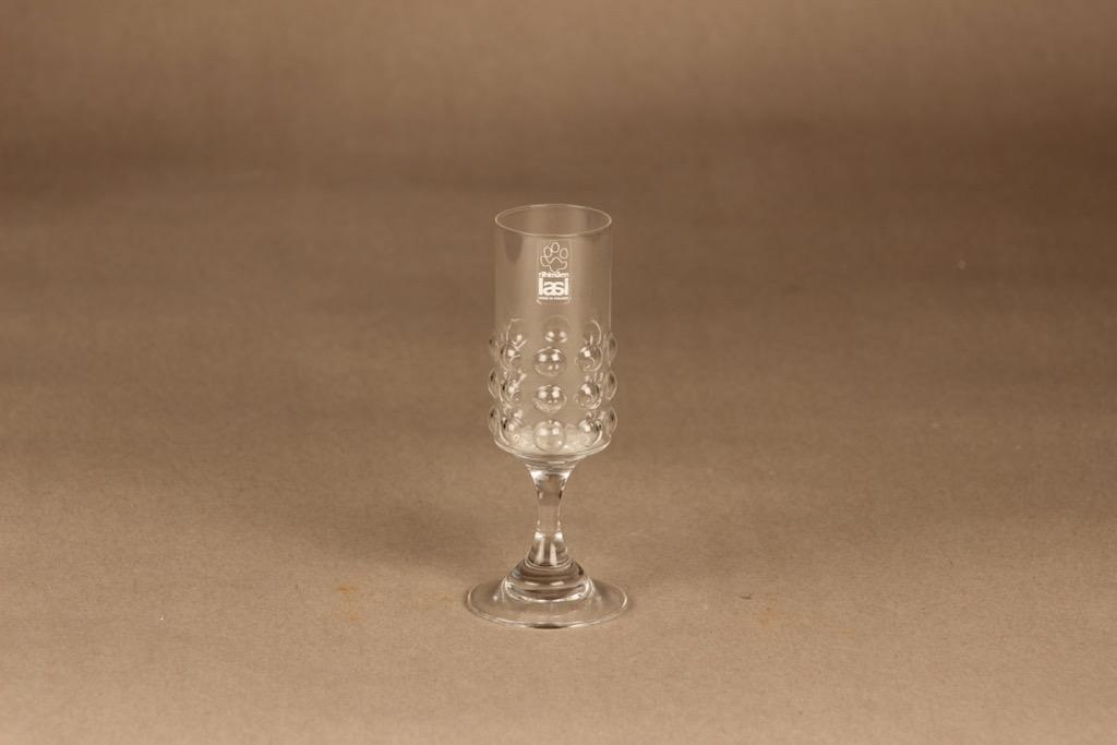 Riihimäen lasi Grappo liköörilasi, 5 cl, suunnittelija Nanny Still, 5 cl
