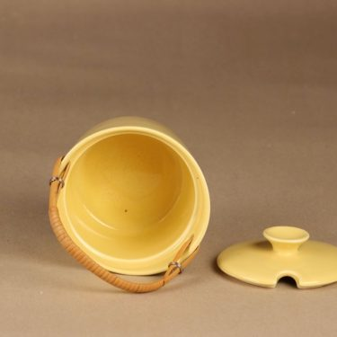 Arabia AL marmelaadirasia, rottinkikahvalla, suunnittelija Ulla Procope, rottinkikahvalla, kuva 2