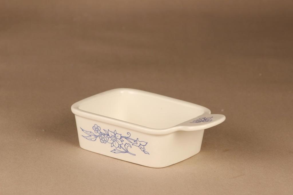 Arabia Sininen keittiö butter lid designer Raija Uosikkinen