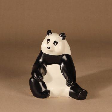 Arabia Panda figuuri, signeerattu, suunnittelija Lillemor Mannerheim-Klingspor, signeerattu, WWF, panda