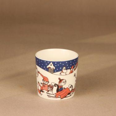Arabia Muumi Joulutervehdys, muki, suunnittelija Tove Slotte-Elevant, muki, muumimuki, joulu kuva 2