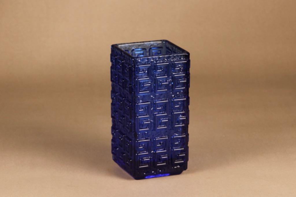 Riihimäen lasi Taalari vase blue vase Tamara Aladin