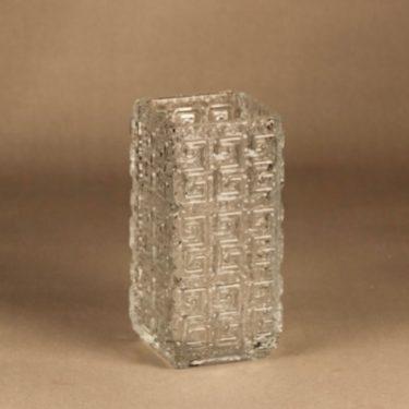 Riihimäen lasi Taalari vase clear designer Tamara Aladin