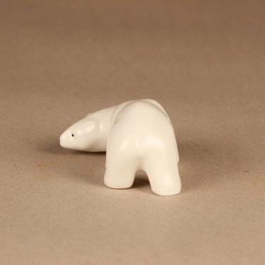 Arabia figuuri , jääkarhu, suunnittelija Raili Eerola, jääkarhu kuva 2
