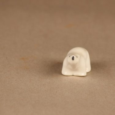 Arabia figuuri, jääkarhu, suunnittelija Raili Eerola, jääkarhu kuva 2