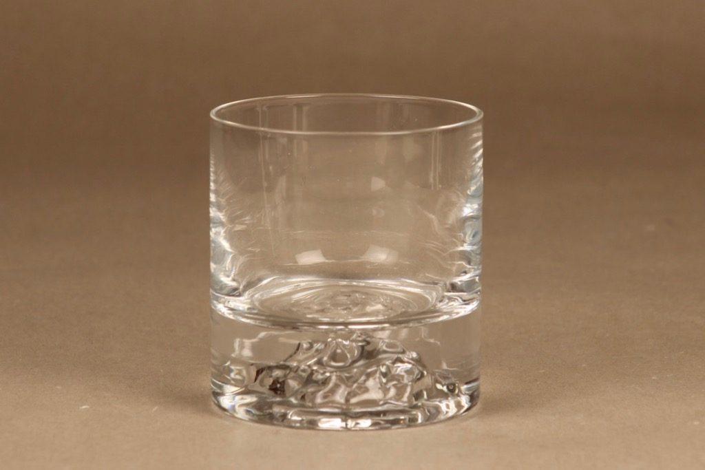 Nuutajärvi Himalaja whiskey glass, 30 cl, designer Björn Weckström