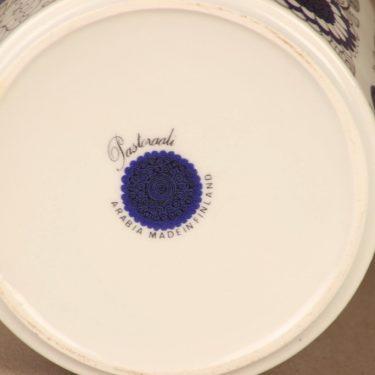 Arabia Pastoraali maljakko, sininen, suunnittelija Esteri Tomula, serikuva, satuaihe kuva 3