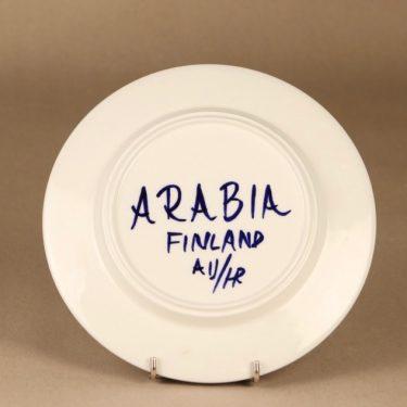Arabia Paju lautanen, käsinmaalattu, suunnittelija Anja Jaatinen-Winquist, käsinmaalattu, signeerattu kuva 3