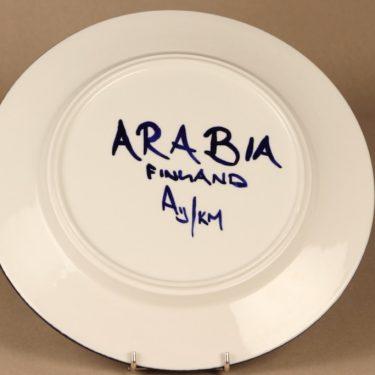 Arabia Paju lautanen, syvä, suunnittelija Anja Jaatinen-Winquist, syvä, signeerattu kuva 3