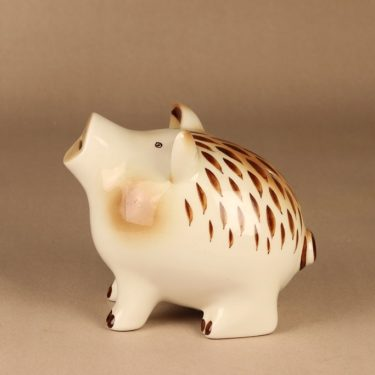 Arabia GOG money box Piggy hand-painted designer Gunvor Olin-Gronqvist