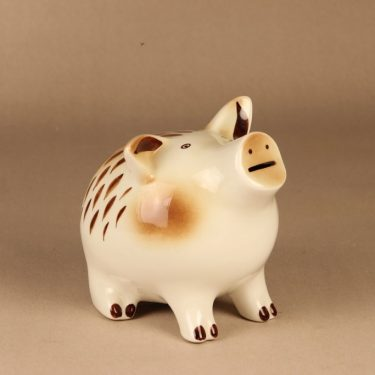 Arabia GOG money box Piggy hand-painted designer Gunvor Olin-Gronqvist 2
