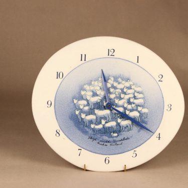 Arabia HLS clock Blue sheep designer Heljä Liukko-Sundström