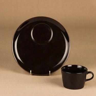 Arabia Kilta kahvikuppi ja erikoislautanen, TV-setti, suunnittelija Kaj Franck, TV-setti kuva 2