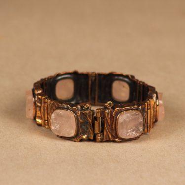 Turun Hopea Kelo bracelet, bronze designer Pentti Sarpaneva