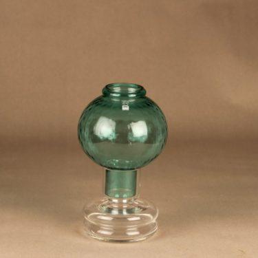 Riihimäen lasi Tuikku kynttilälyhty, vihreä, suunnittelija Nanny Still,