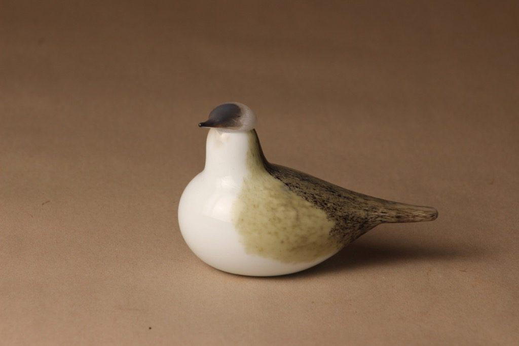 Nuutajärvi limited edition bird Wagtail designer Oiva Toikka