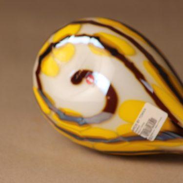 Nuutajärvi lintu , Metsätylli, suunnittelija Oiva Toikka, Metsätylli, signeerattu, tilaustyö kuva 4