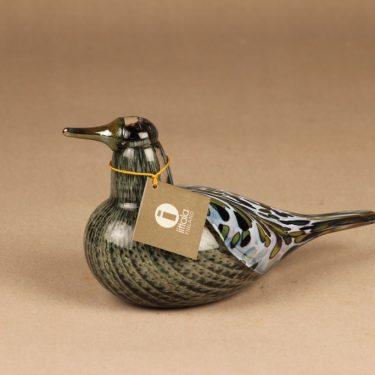 Nuutajärvi Annula bird Songtrush 1997 designer Oiva Toikka