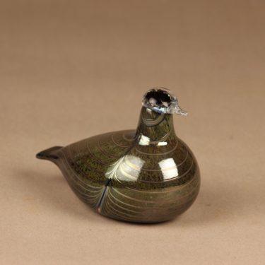 Nuutajärvi lintu , Pikku-Alli, suunnittelija Oiva Toikka, Pikku-Alli, signeerattu kuva 2