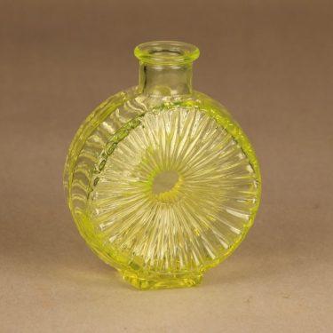 Riihimäen lasi Aurinkopullo koristepullo, Koko ¼, suunnittelija Helena Tynell, Koko ¼