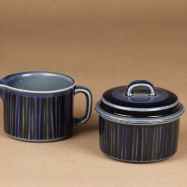 Arabia Kosmos sugar bowl and creamer designer Gunvor Olin-Gronqvist