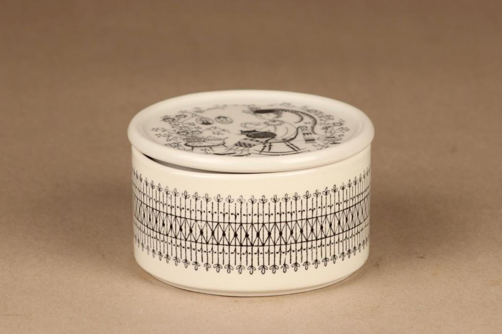 Arabia Emilia bowl with lid designer Raija Uosikkinen