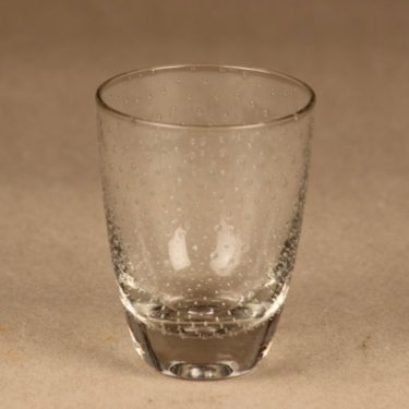 Nuutajärvi Pore glass 12 cl designer Gunnel Nyman