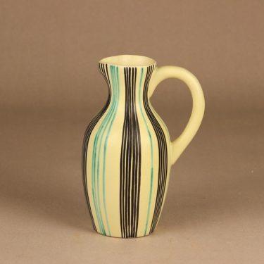 Kupittaan savi vase, hand-painted