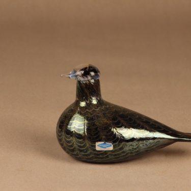 Nuutajärvi bird hazel Grouse designer Oiva Toikka