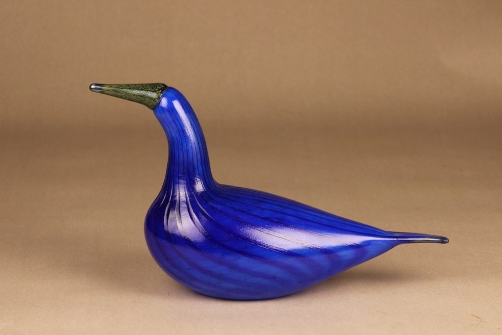 Nuutajärvi bird Scaup Ducks of Finland designer Oiva Toikka