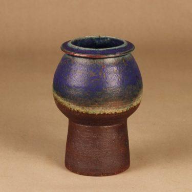 Arabia maljakko, käsinmaalattu, suunnittelija Liisa Hallamaa, käsinmaalattu, signeerattu