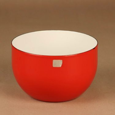 Finel bowl red designer Kaj Franck