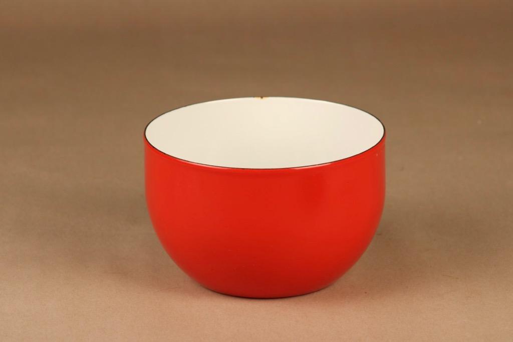 Finel kulho, punainen, suunnittelija Kaj Franck,