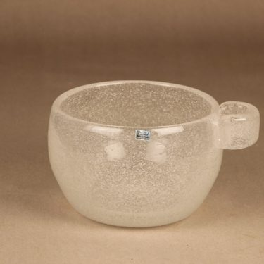Nuutajärvi Iglu bowl, signed designer Oiva Toikka