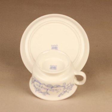 Arabia Sininen keittiö teekuppi, Isän kuppi, suunnittelija Raija Uosikkinen, Isän kuppi kuva 3