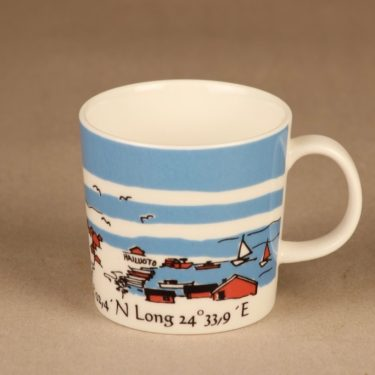 Arabia Teema lighthouse mug Marjaniemi