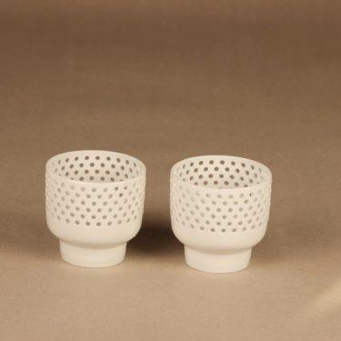 Arabia rice porcelain candle holder designer Richard Lindh