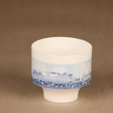 Arabia candle holder blue