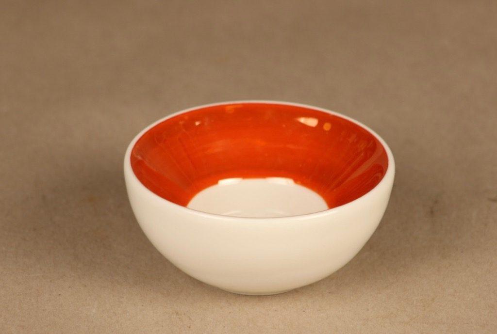 Arabia candle holder orange