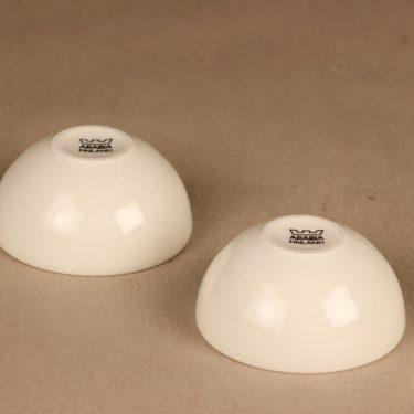 Arabia tuikkulyhty, valkoinen, 2 kpl, suunnittelija , tuikku kuva 2