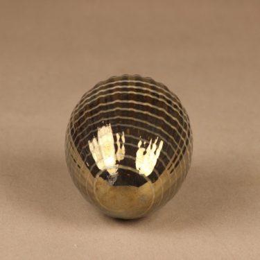Nuutajärvi uniikki muna, signeerattu, suunnittelija Oiva Toikka, signeerattu kuva 2